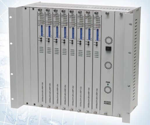 CL-CR10 10 Slots rackmount, as a Local Multiservice Transmission Platform