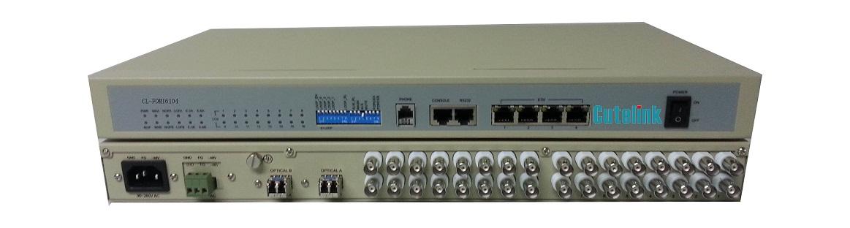 CL-FOM4104/CL-FOM8104/CL-FOM16104 4/8/16E1+4Eth Rs232/OW/SNMP/AC+DC/1+1Optical OptiMux