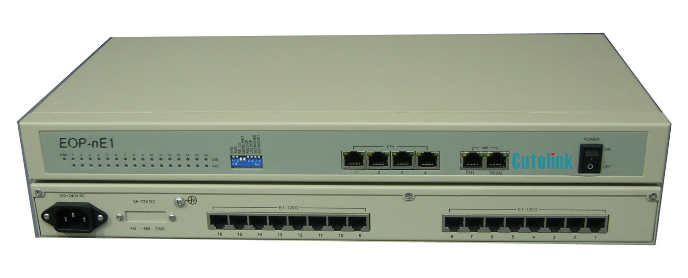 CL-GW16 16E1-Eth Access Gateway Mux Solution