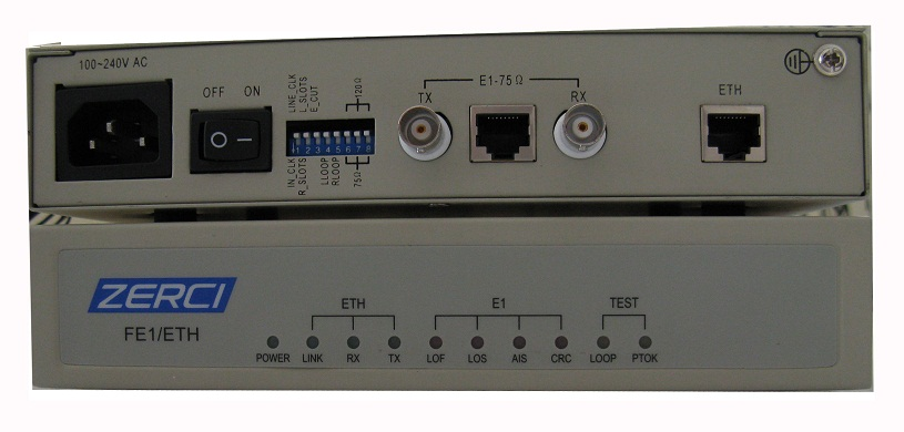 CL-C1100 E1 to Ethernet Protocol Converter